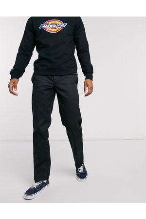 Dickies 873 slim straight fit work trousers in black