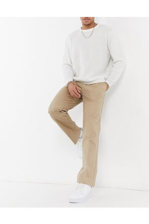 Lacoste Live pleated cotton chinos