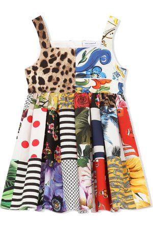 Dolce & Gabbana Niña Estampados - Vestido con estampado gráfico