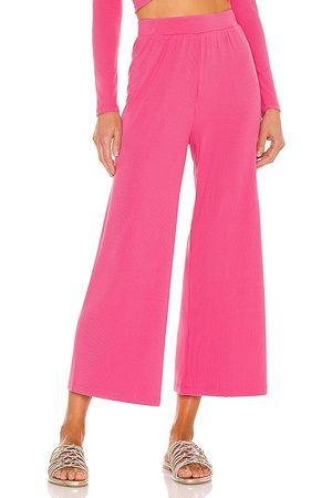 L*Space Pantalón charlie en color rosado talla L en - Pink. Talla L (también en S, XS, M).