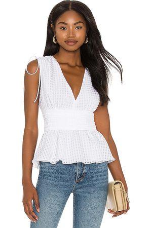Amanda Uprichard Mujer Blusas - Blusa westerly en color talla L en - White. Talla L (también en XS, S, M).