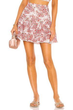 CHARO RUIZ IBIZA Mujer Minifaldas - Minifalda natalie en color rojo talla L en - Red. Talla L (también en XS, S, M).