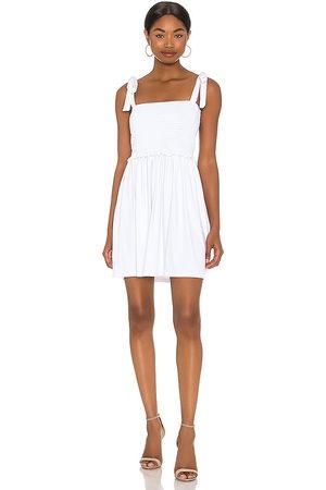 Susana Monaco Minivestido en color blanco talla L en - White. Talla L (también en XS, S, M).