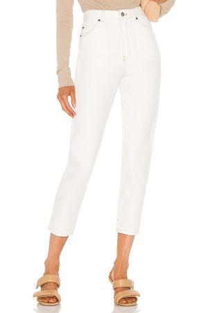 Dr Denim Mujer Jeans - Vaqueros mamá nora en color blanco talla 24 en - White. Talla 24 (también en 25, 26, 27, 28, 29, 30, 31).