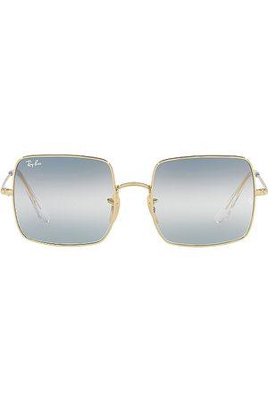 Ray-Ban Gafas de sol rectangle en color azul talla all en - Blue. Talla all.