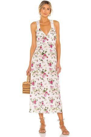 LOVESHACKFANCY Mujer Vestidos - Vestido lencero sabina en color blanco talla 0 en - White. Talla 0 (también en 8).