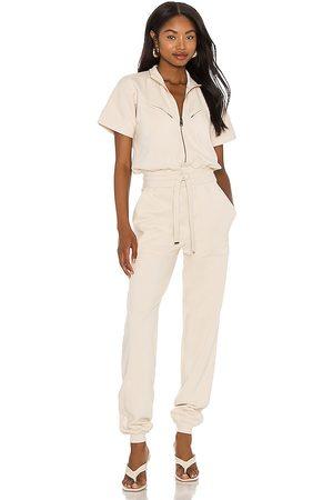 AllSaints Mujer Largos - Kayla jumpsuit en color blanco talla 0 en - White. Talla 0 (también en 00, 2, 4, 6, 8).