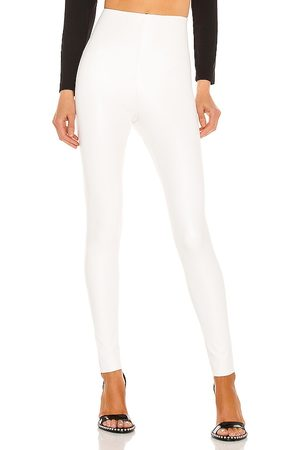 Commando Faux leather legging en color talla M en - White. Talla M (también en XS, S).