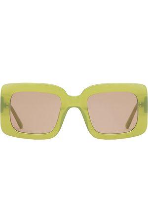 Lu Goldie Gafas de sol mia en color verde talla all en - Green. Talla all.