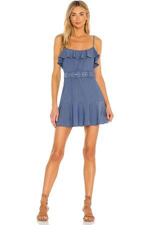 Lovers + Friends Mujer Cortos - Minivestido jacquie en color azul talla L en - Blue. Talla L (también en XXS, XS, S, M, XL).