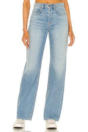 GRLFRND Mujer Jeans - Jean pierna recta brooklyn en color azul talla 24 en - Blue. Talla 24 (también en 26, 25, 27, 28, 29, 31, 32).
