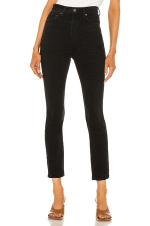 GRLFRND Piper super high rise stretch slim en color negro talla 23 en - Black. Talla 23 (también en 26, 24, 25, 27, 28, 29
