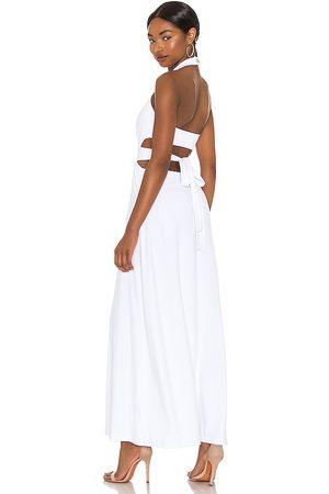 Susana Monaco Mujer Midi - Vestido midi en color blanco talla L en - White. Talla L (también en XS, S, M).