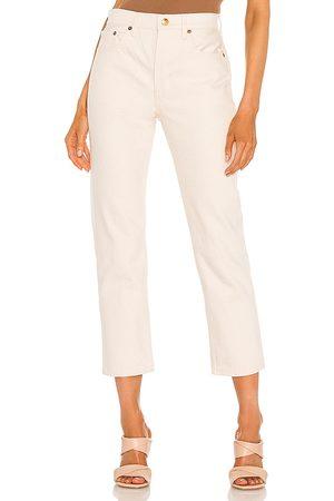 Still Here Mujer Jeans - Jean pierna recta tate en color crema talla 23 en - Cream. Talla 23 (también en 26, 24, 25, 27, 28, 29, 30).