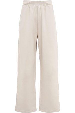 Balenciaga Hombre Anchos y de harem - Baggy Cotton Jersey Sweatpants
