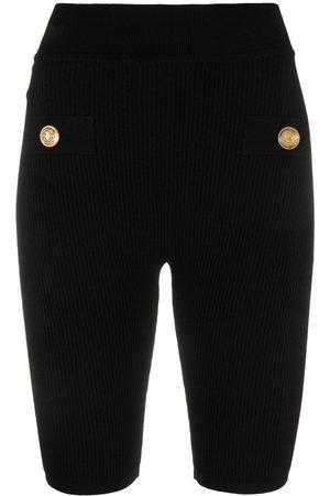 Balmain Shorts de ciclismo con botones