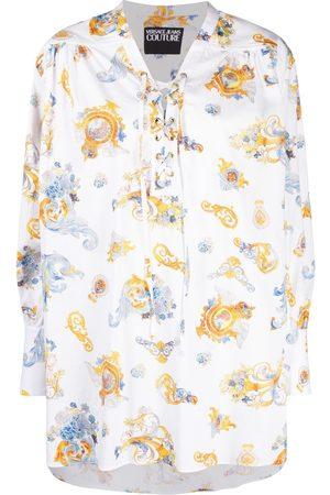 Versace Jeans Couture Camisa con estampado Barocco