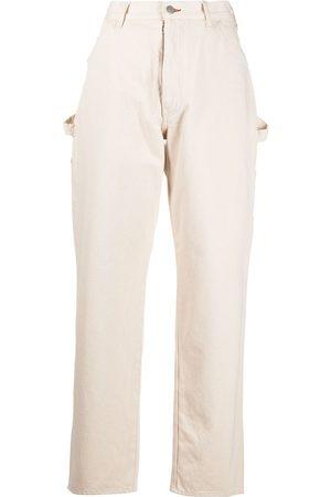 Maison Margiela Mujer De vestir - High-waisted straight-leg trousers
