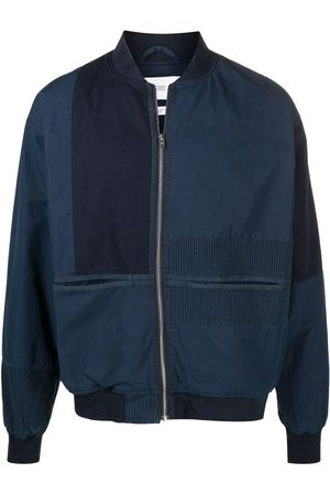 Closed Hombre Bomber - Chamarra bomber con diseño patchwork