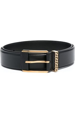 VERSACE Hombre Cinturones - Cinturón con hebilla con Greca