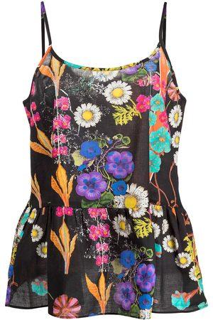 Cynthia Rowley Conjunto de pijama con estampado floral