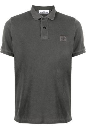 Stone Island Hombre Polos - Logo-patch polo shirt
