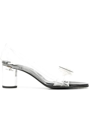 Comme des Garçons Mujer De tacón - Mid-heel transparent sandals