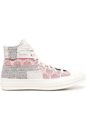 Converse Chuck 70 patchwork twill sneakers
