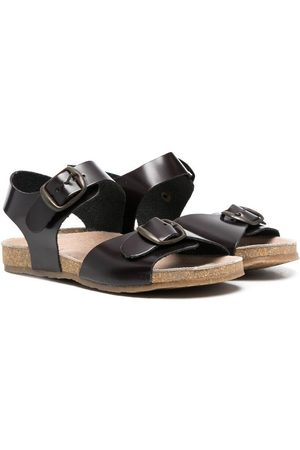 PèPè Niña Sandalias - Buckled leather sandals