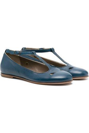 PèPè Niña Flats - Buckled ballerina shoes