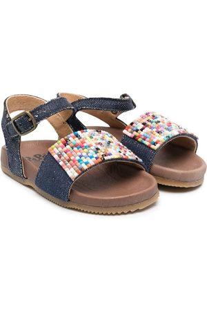 PèPè Niña Sandalias - Panelled buckled sandals