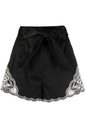 Twin-Set Embroidered-detail shorts