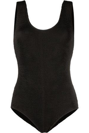 Bottega Veneta Mujer Trajes de baño completos - Open-back ribbed swimsuit
