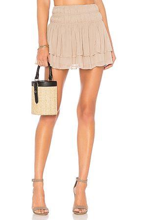 Tularosa Minifalda natalie en color nude talla L en - Nude. Talla L (también en XS, XL).