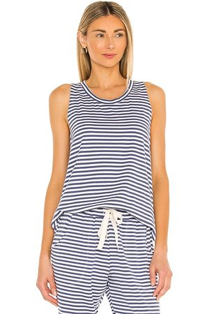 Eberjey Camiseta tirantes quincy tank en color azul talla L en - Blue. Talla L (también en XS, S, M).