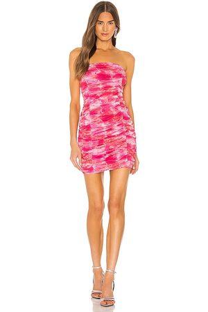 superdown Minivestido ivanna en color rosado talla L en - Pink. Talla L (también en XS, S, M, XL, XXS).