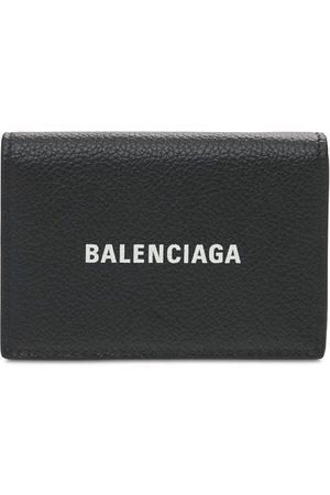 Balenciaga Cartera De Piel Con Logo Estampado