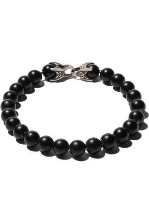 David Yurman Hombre Pulseras - Pulsera Spiritual Beads con ónix negro