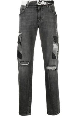 Dolce & Gabbana Jeans bootcut con detalles rasgados
