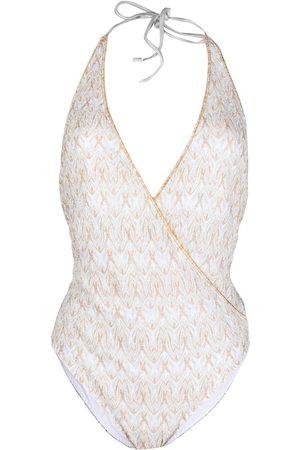 Missoni Shorts de playa con logo bordado