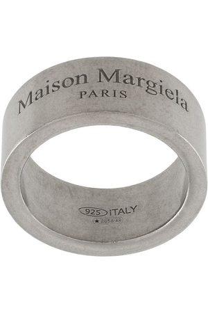 Maison Margiela Mujer Anillos - Anillo con logo grabado