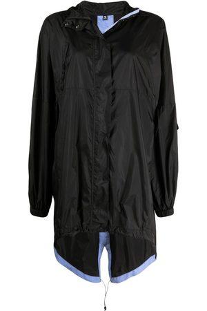 McQ Impermeable ligero con capucha