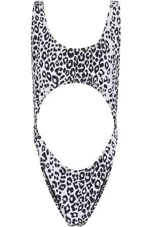 Reina Olga Mujer Trajes de baño completos - Exclusive to Mytheresa – Marina leopard-print swimsuit