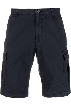 BRIGLIA Hombre Shorts - Shorts cargo con bolsillos