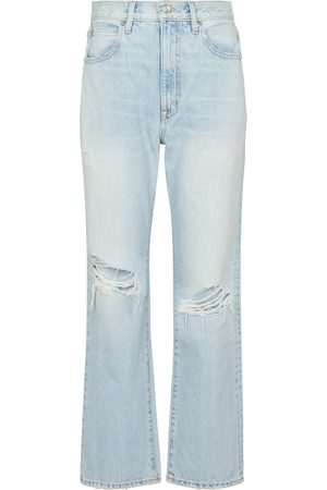 SLVRLAKE Mujer Rectos - London cropped straight jeans