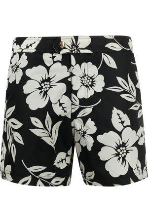 Tom Ford Shorts de playa con estampado floral