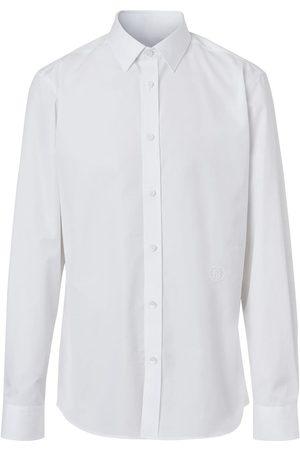 Burberry Camisa con detalle bordado