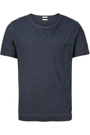 MASSIMO ALBA Camiseta con bolsillo de parche