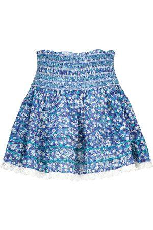 POUPETTE ST BARTH Mujer Estampadas - Exclusive to Mytheresa – Galia floral cotton miniskirt