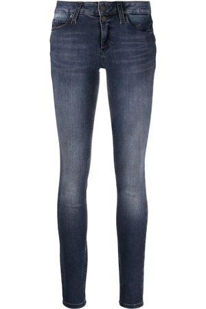 Calvin Klein Mujer Skinny - Skinny jeans con tiro alto